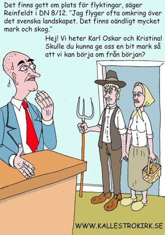 Fredrik Reinfeldt: Jag flyger ofta över den svenska landsbygden och det skulle jag vilja råda fler att göra