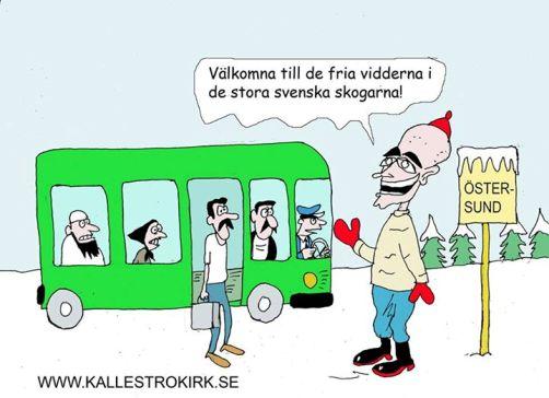 Flyktingar kräver att bo i storstad... annars fortsätter de till Norge och Finland