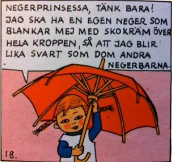 Pippi Långstrump censureras av SVT