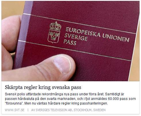 Klicka här för att gå till artikeln i SVT, 2015-01-31