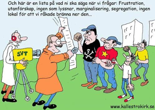 SVT, 83 procent vänsterpartister, socialdemokrater och miljöpartister