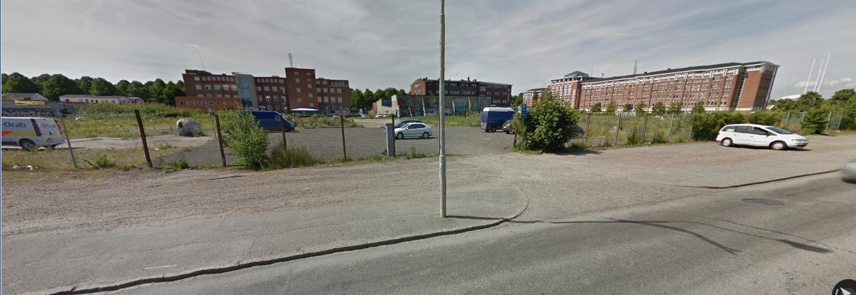 Industrigatan-Nobelvägen i Malmö innan romerna ockuperade marken