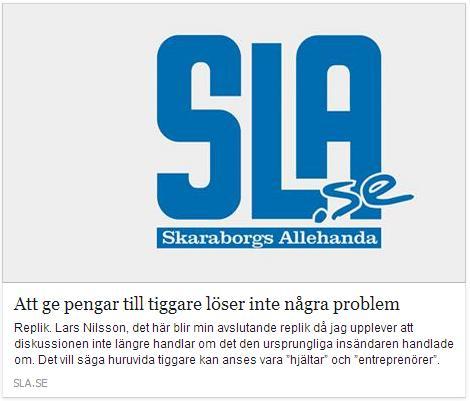Klicka här för att gå till artikeln i Skaraborgs Allehanda, 2015-03-28