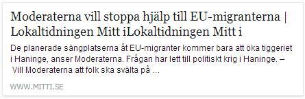 Klicka här för att gå til artikeln i Mitti.se, 2015-03-27