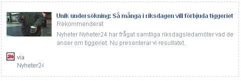 Klicka här för att gå till artikeln i Nyheter24, 2015-03-31