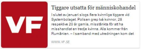 Klicka här för att gå till artikeln i Värmlands Folkblad, 2015-03-06