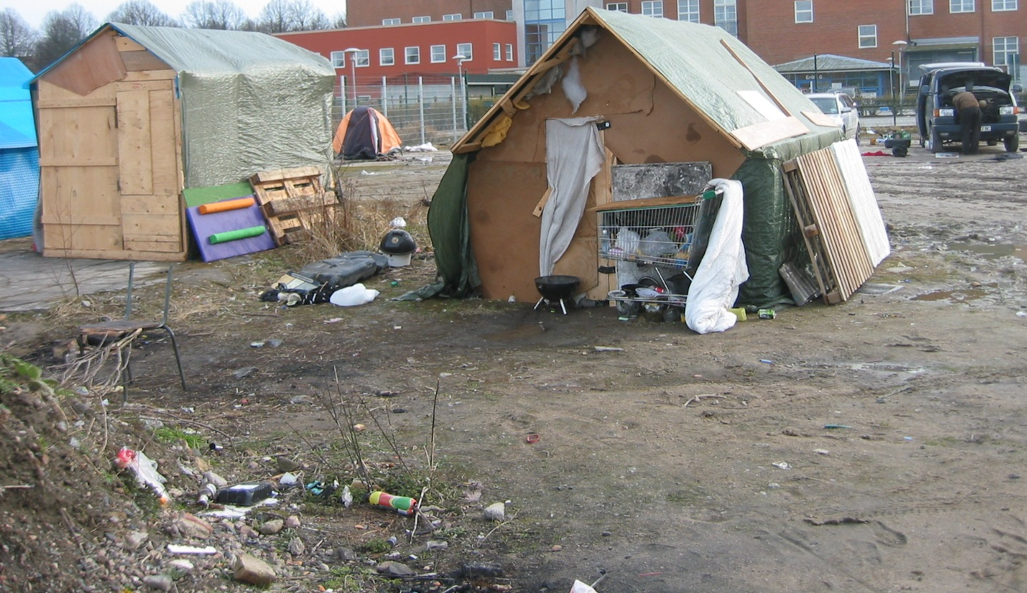 EU-migranternas kåkstad i Malmö
