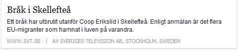 Klicka här för att gå till artikeln i SVT, 2015-04-28