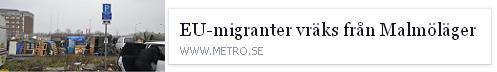 Klicka här för att gå till artikeln i Metro, 2015-04-23
