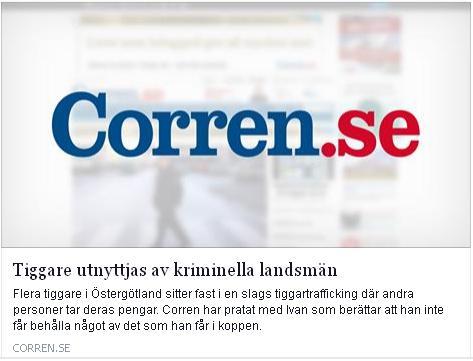 Klicka här för att gå till artikeln i Corren, 2015-04-22