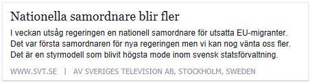 Klicka här för att gå till artikeln i SVT, 2015-04-17