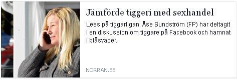 Klicka här för att gå till artikeln i Norran, 2015-03-26