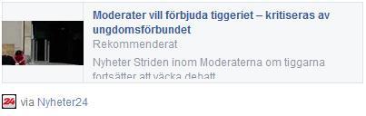 Klicka här för att gå till artikeln i Nyheter24, 2015-05-30