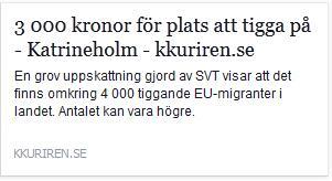 Klicka här för att gå till artikeln i Katrineholmskuriren, 2015-06-19
