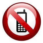 Förbjudet att prata i mobiltelefon