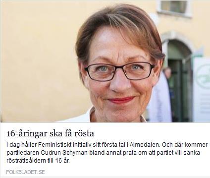 Klicka här för att gå till artikeln i Folkbladet, 2015-07-06
