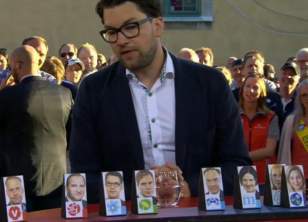 Höger vänster partier enligt Ebba Busch Thor