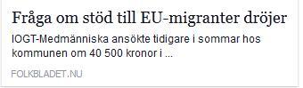 Klicka här för att gå till artikeln i Folkbladet, 2015-08-11