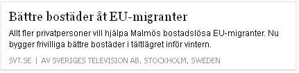Klicka här för att gå till artikeln i SVT, 2015-09-28