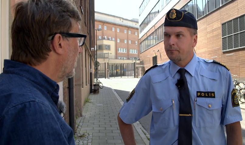 Mats Karlsson, polis i Malmö om identifiering av EU-migranter