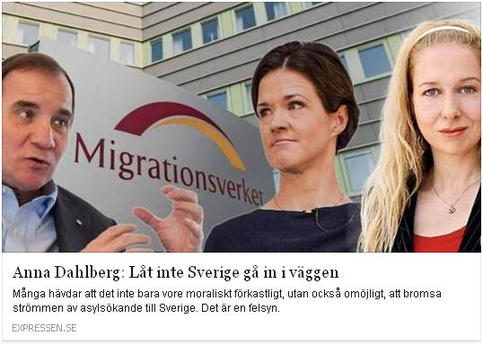 Klicka här för att gå till artikeln i Expressen, 2015-10-17