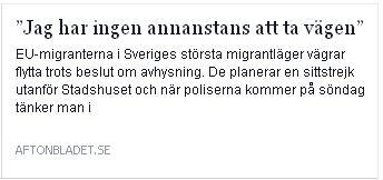 Klicka här för att gå till artikeln i Aftonbladet, 2015-10-27