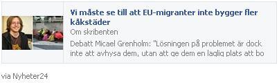 Klicka här för att gå till insändaren i Nyheter 24, 2015-10-10