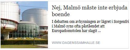 Klicka här för att gå till artikeln i Dagens Samhälle, 2015-11-04