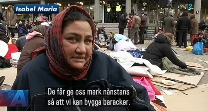 EU-migranter Malmö Isabel Maria