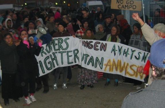 Malmös kåkstad, 2015-11-01. Klicka här för större bild