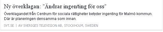 Klicka här för att gå till artikeln i SVT, 2015-11-02