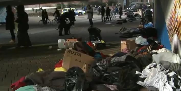 EU-migranter Malmö Stadshus