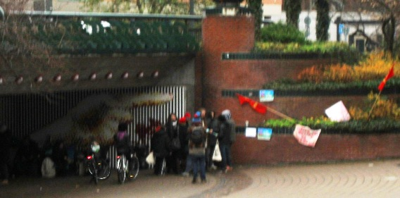 EU-migranter Stadshuset Malmö