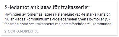 Klicka här för att gå till artikeln i Stockholm Direkt, 2014-04-03