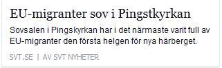 Klicka här för att gå till artikeln i SVT, 2015-12-13