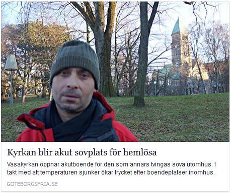 Klicka här för att gå till artikeln i Göteborgs Fria, 2016-01-04