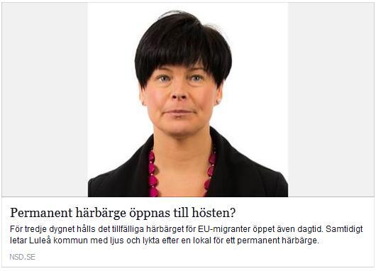 Annika Klefsjö. Klicka här för att gå till artikeln i NSD, 2016-01-08