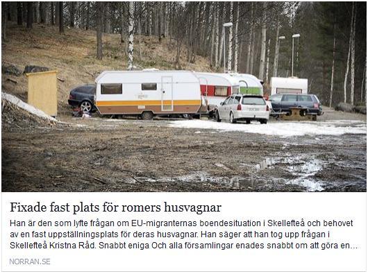 Klicka här för att gå till artikeln i Norran, 2016-01-08