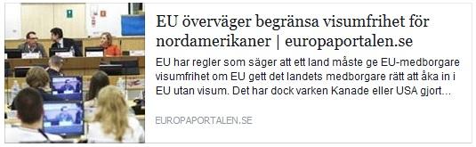Klicka här för att gå till artikeln i Europaportalen, 2016-04-08