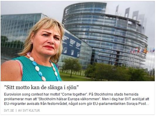Klicka här för att gå till artikeln om Soraya Pot i SVT, 2016-05-10