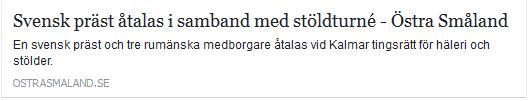 Klicka här för att gå till artikeln i Östra Småland, 2016-11-02