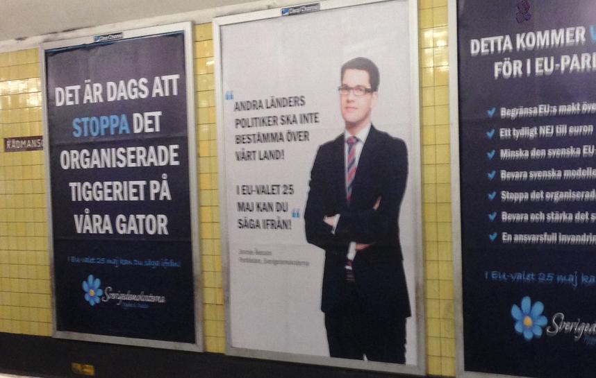 SD-Reklam: Det är dags att stoppa det organiserade tiggeriet på våra gator
