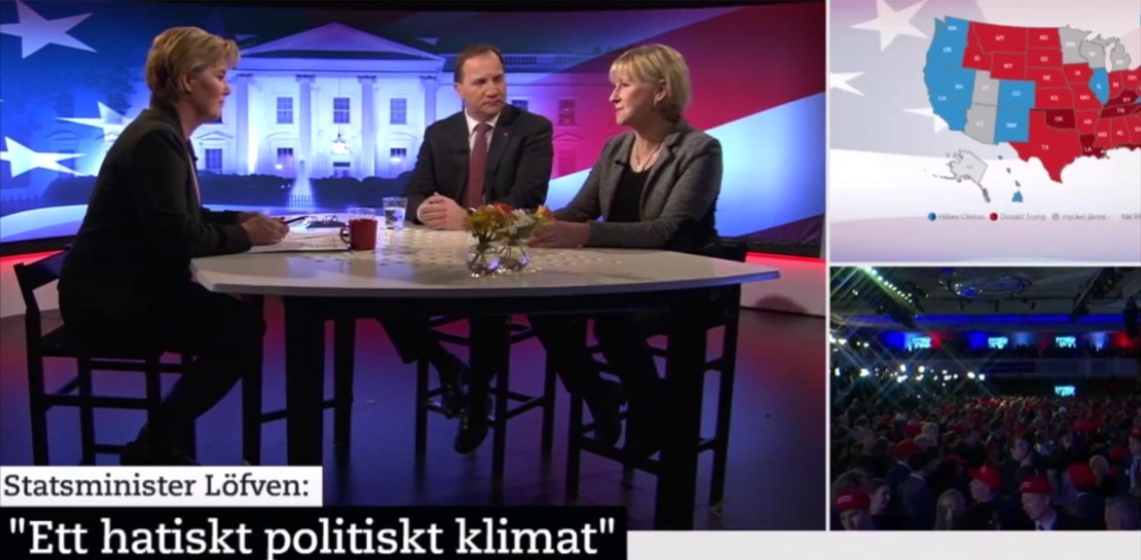 Stefan Löfven ogillar hat som han inte uttrycker själv