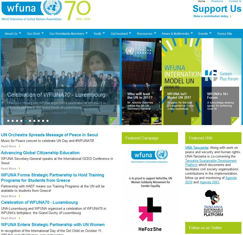 Wfuna - World Federation of United Nations Associations