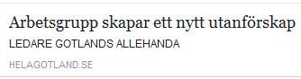 Klicka här för att gå till artikeln i Hela Gotland, 2016-12-10