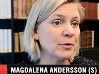 Magdalena Andersson (S), finansminister