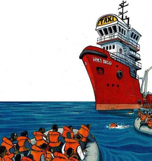 Medelhavet, NGO