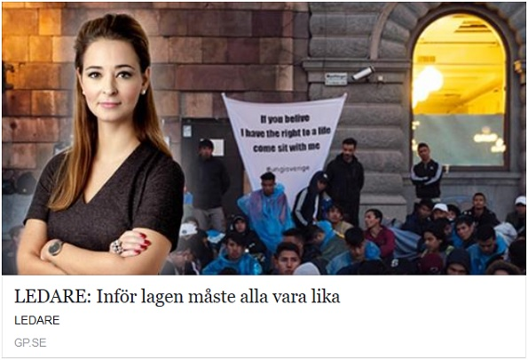 Afghanernas sittstrejk på Medborgarplatsen i Stockholm