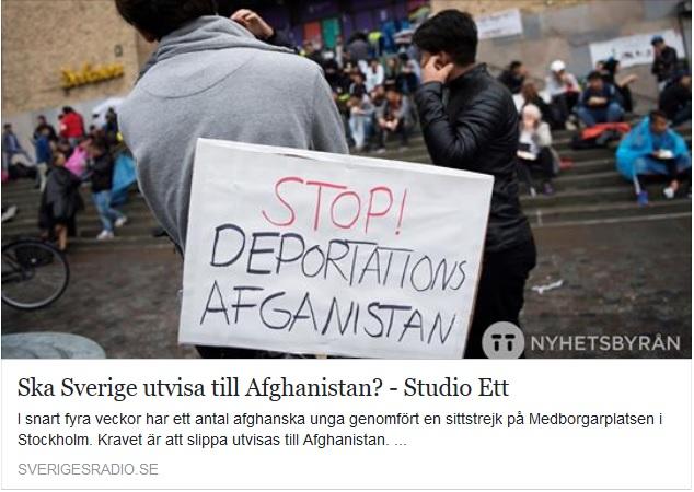 Utvisning Afghanistan