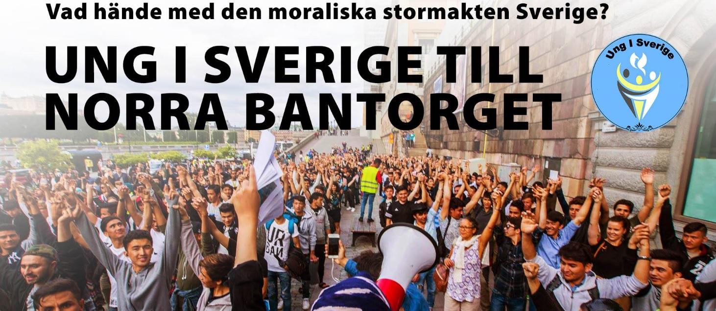 Den moraliska stormakten Sverige